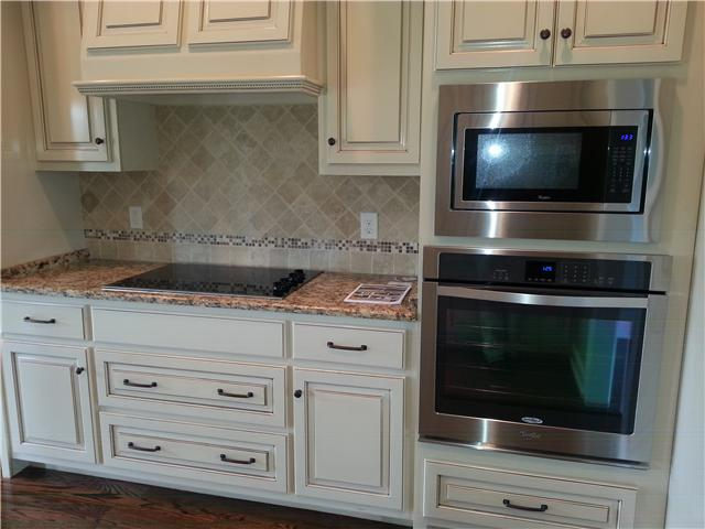 Lovely cabinets, upgraded appliances
